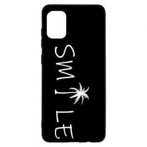 Etui na Samsung A31 Smile inscription