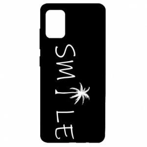 Etui na Samsung A51 Smile inscription
