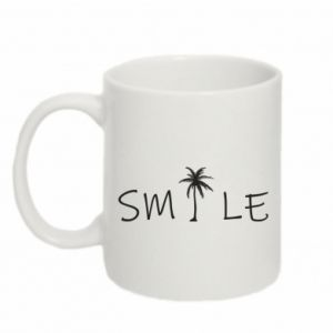 Kubek 330ml Smile inscription