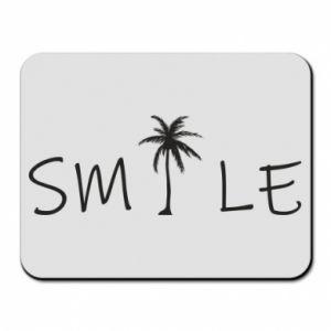 Podkładka pod mysz Smile inscription