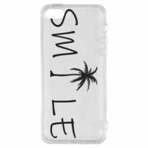 Etui na iPhone 5/5S/SE Smile inscription