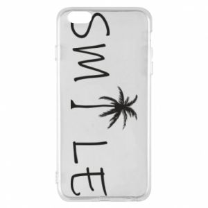 Etui na iPhone 6 Plus/6S Plus Smile inscription