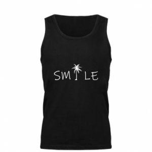 Męska koszulka Smile inscription