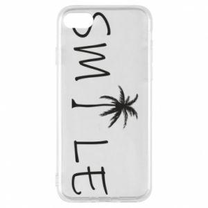 Etui na iPhone 8 Smile inscription
