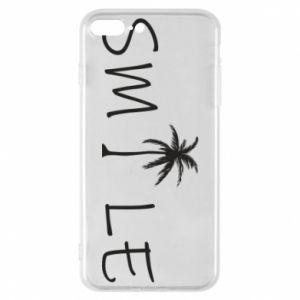 Etui na iPhone 8 Plus Smile inscription