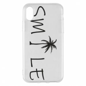 Etui na iPhone X/Xs Smile inscription
