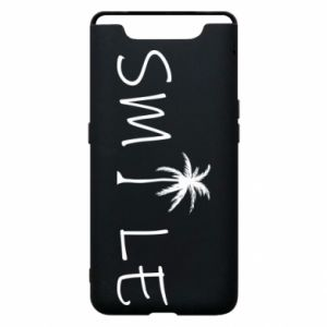Etui na Samsung A80 Smile inscription