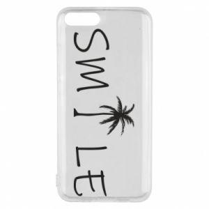 Etui na Xiaomi Mi6 Smile inscription