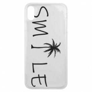 Etui na iPhone Xs Max Smile inscription