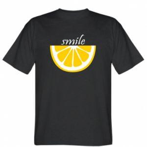 T-shirt Smile lemon