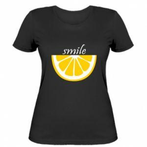 Koszulka damska Smile lemon
