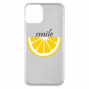 Etui na iPhone 11 Smile lemon
