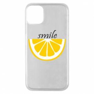 Etui na iPhone 11 Pro Smile lemon