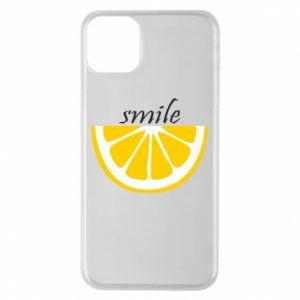 Etui na iPhone 11 Pro Max Smile lemon