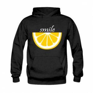 Bluza z kapturem dziecięca Smile lemon