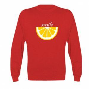 Bluza dziecięca Smile lemon