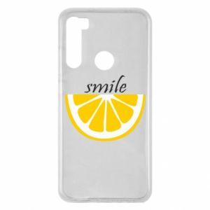 Etui na Xiaomi Redmi Note 8 Smile lemon
