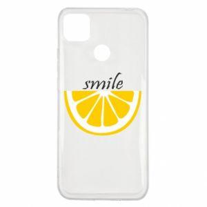 Etui na Xiaomi Redmi 9c Smile lemon