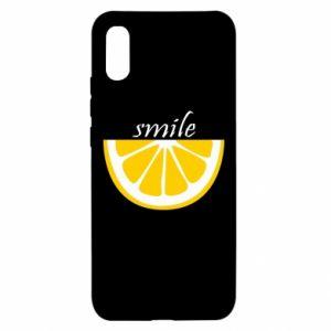 Etui na Xiaomi Redmi 9a Smile lemon