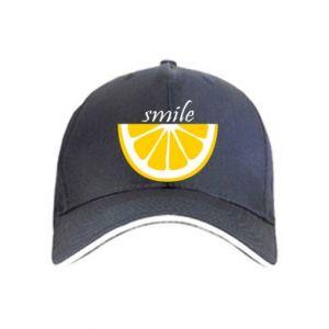 Czapka Smile lemon