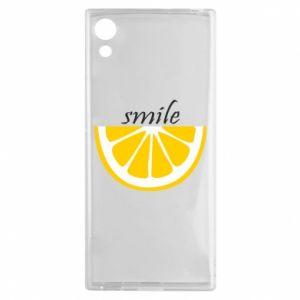 Etui na Sony Xperia XA1 Smile lemon