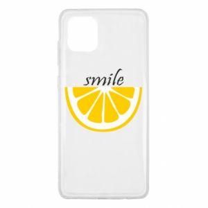 Etui na Samsung Note 10 Lite Smile lemon