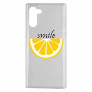 Etui na Samsung Note 10 Smile lemon