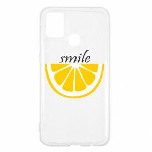 Etui na Samsung M31 Smile lemon