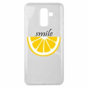 Etui na Samsung J8 2018 Smile lemon