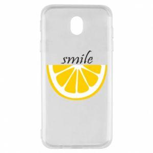 Etui na Samsung J7 2017 Smile lemon