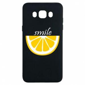Etui na Samsung J7 2016 Smile lemon