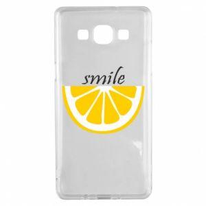 Etui na Samsung A5 2015 Smile lemon