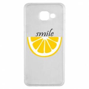 Etui na Samsung A3 2016 Smile lemon