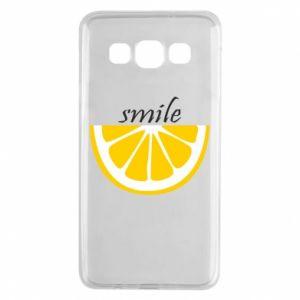 Etui na Samsung A3 2015 Smile lemon