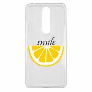 Etui na Nokia 5.1 Plus Smile lemon