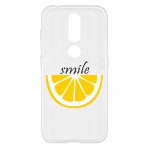 Etui na Nokia 4.2 Smile lemon
