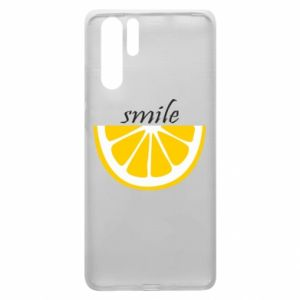 Etui na Huawei P30 Pro Smile lemon