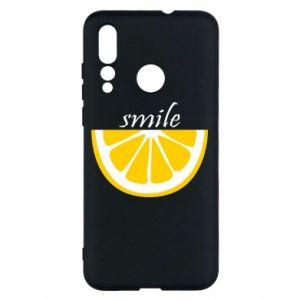 Etui na Huawei Nova 4 Smile lemon