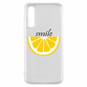 Etui na Huawei P20 Pro Smile lemon
