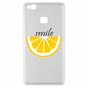 Etui na Huawei P9 Lite Smile lemon