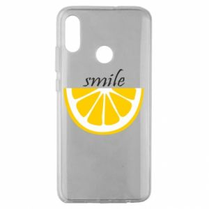 Etui na Huawei Honor 10 Lite Smile lemon
