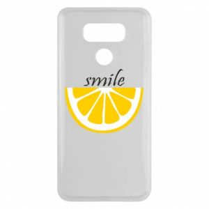 Etui na LG G6 Smile lemon