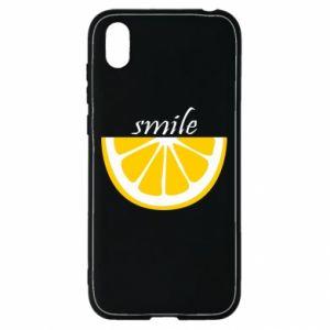 Etui na Huawei Y5 2019 Smile lemon