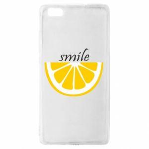 Etui na Huawei P 8 Lite Smile lemon
