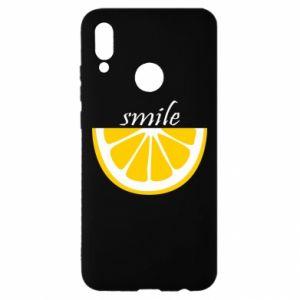 Etui na Huawei P Smart 2019 Smile lemon