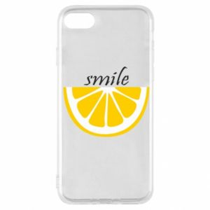 Etui na iPhone SE 2020 Smile lemon