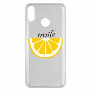 Etui na Huawei Y9 2019 Smile lemon