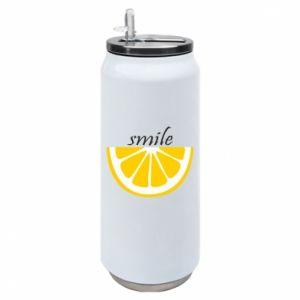 Puszka termiczna Smile lemon