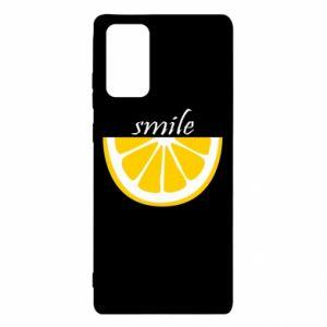 Etui na Samsung Note 20 Smile lemon