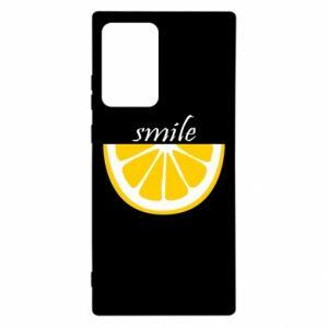 Etui na Samsung Note 20 Ultra Smile lemon
